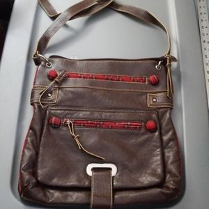Candies Faux Leather Multi Compartment Crossbody